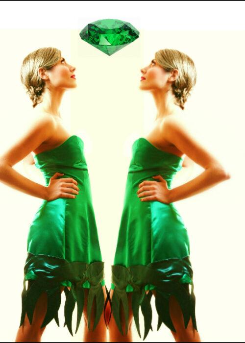 Algae dress 2