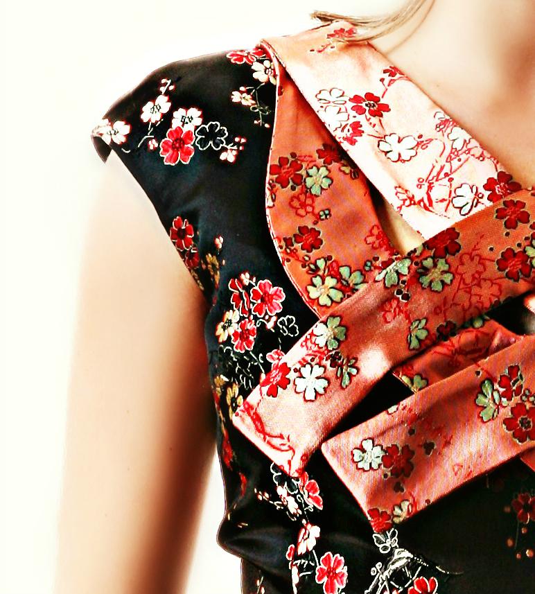Chinese breeze dress 287b