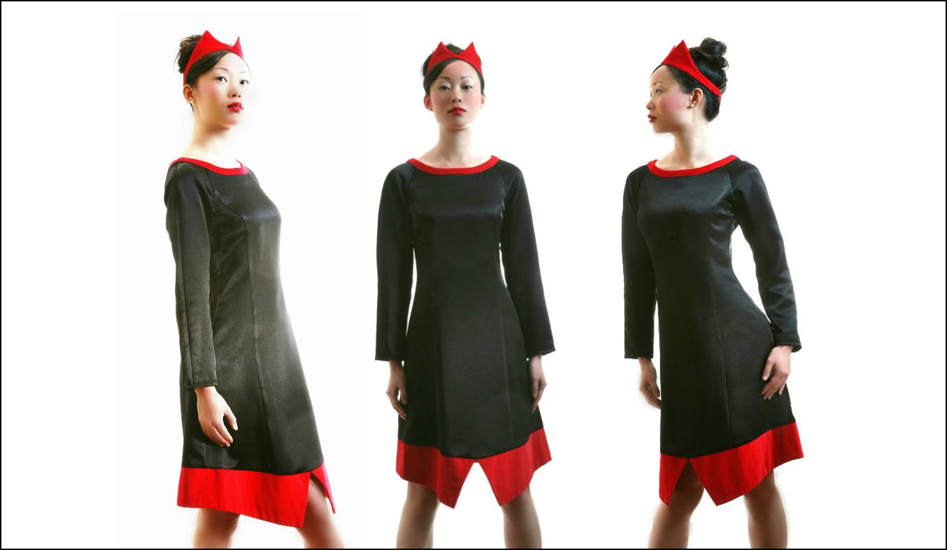 Collar dress 1