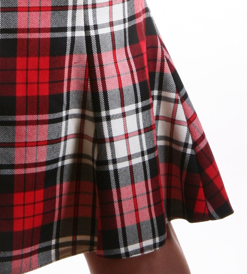 Duchelina's plaid dress 161b