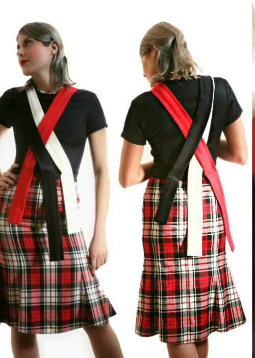 Duchelina's plaid dress 6b