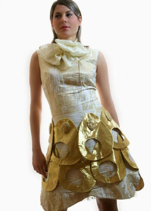 Golden dress 2