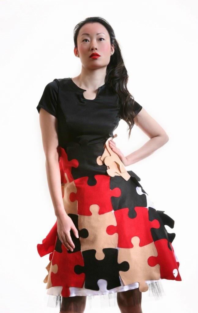 Puzzle dress 13