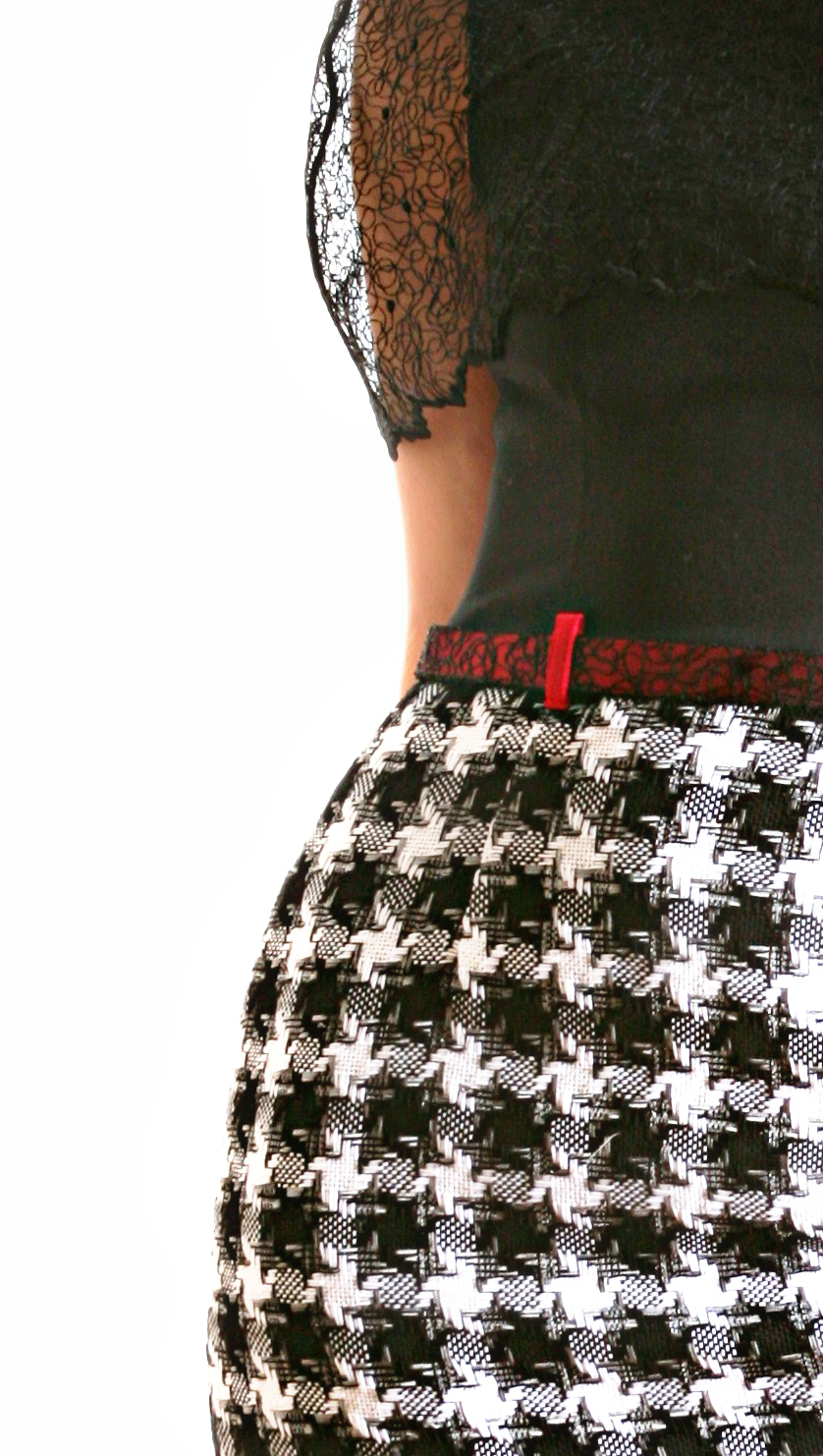 Tracery dress 353a