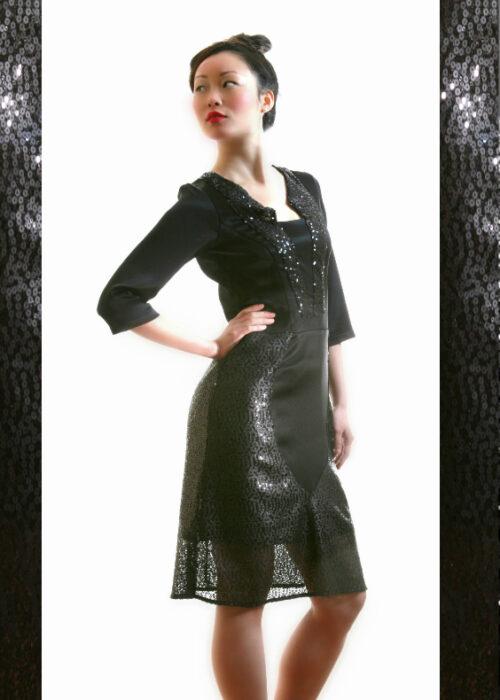 Black ocean dress 1