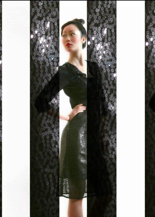 Black ocean dress 10d