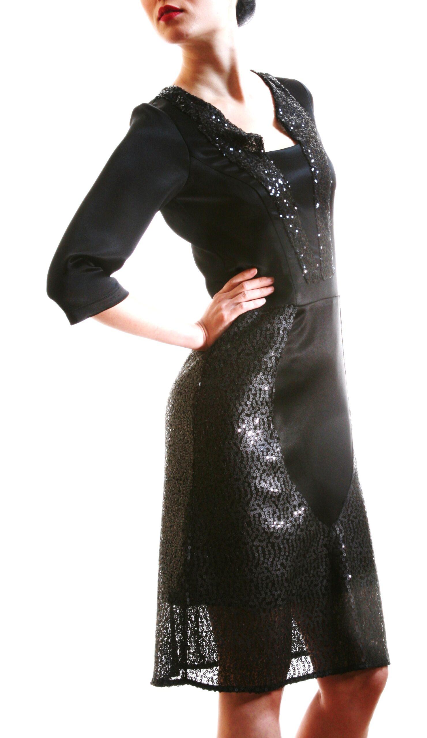 Black ocean dress 11