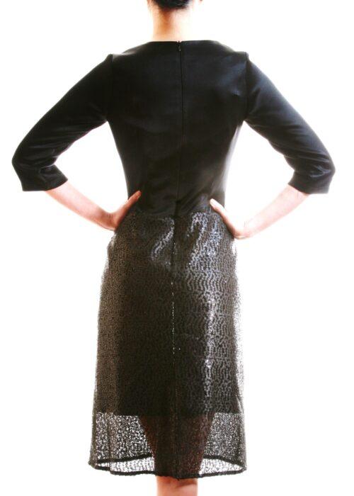 Black ocean dress 12