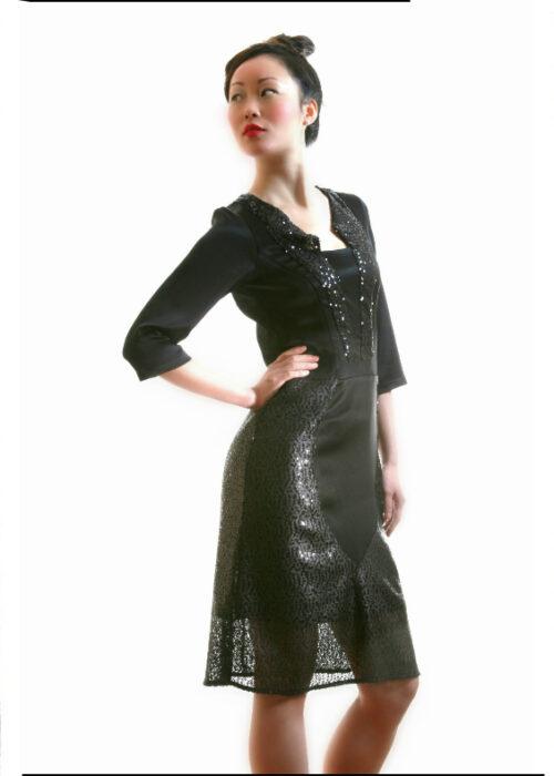 Black ocean dress 2a