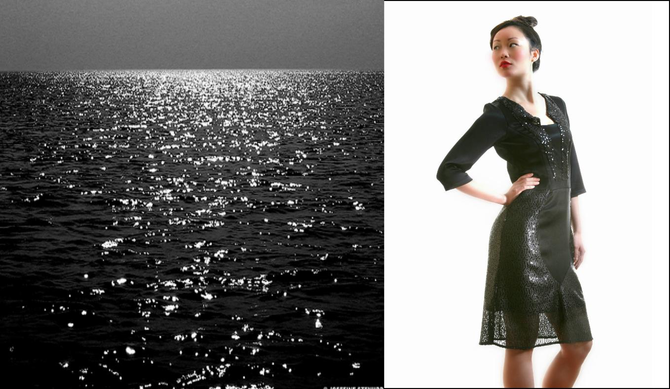 Black ocean dress 3