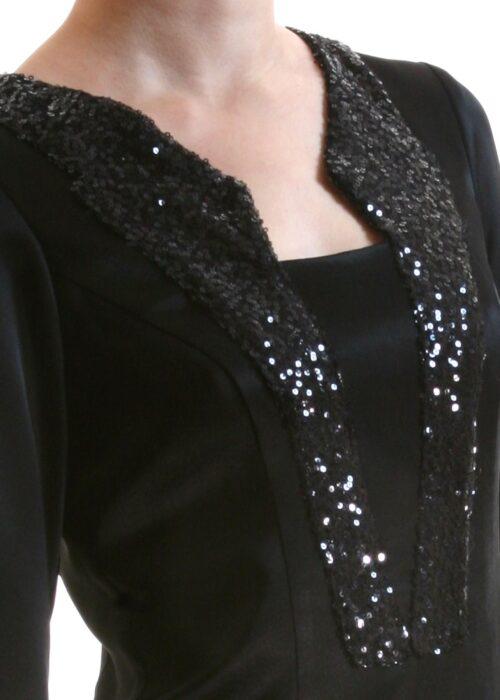 Black ocean dress 372a