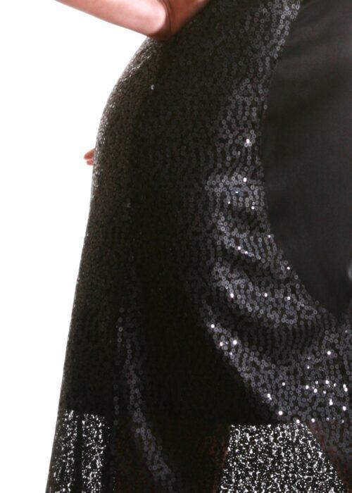 Black ocean dress 376a