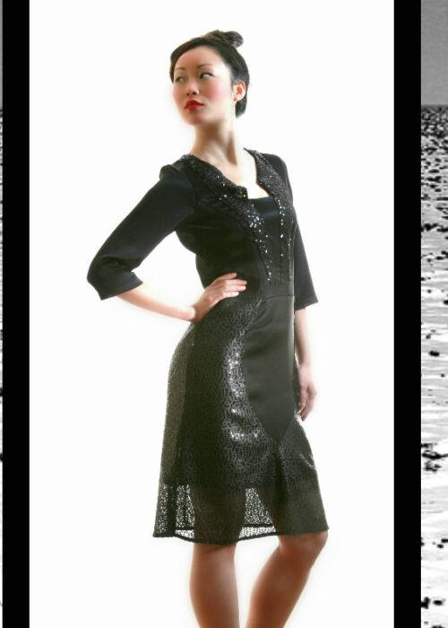 Black ocean dress 6