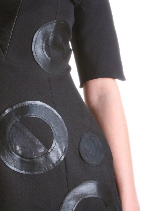 Black rings dress 026