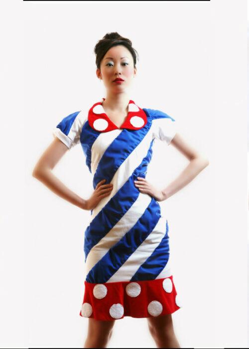 Clown dress 14a