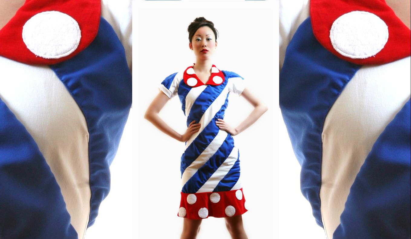 Clown dress 25a