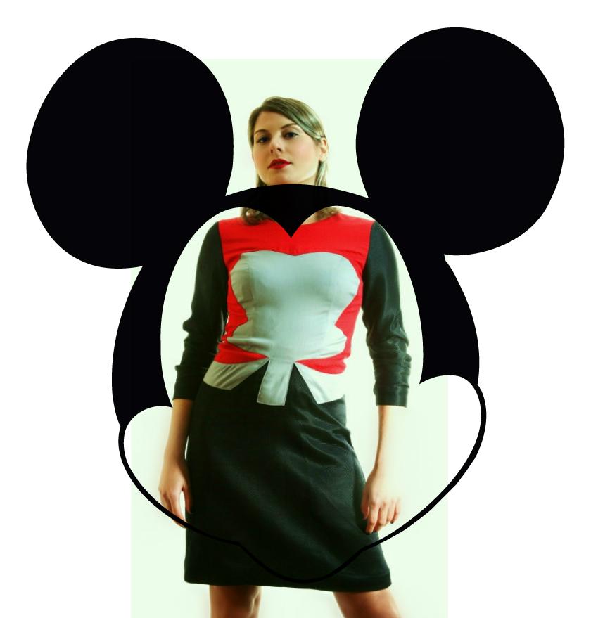 Duche mouse dress