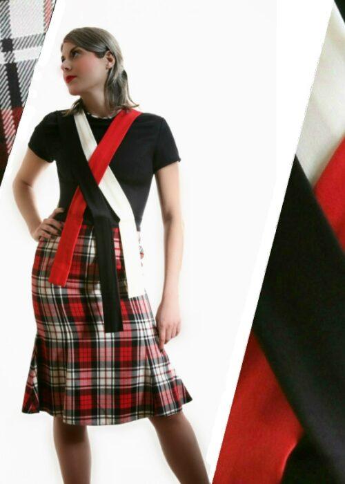 Duchelina's plaid dress 1