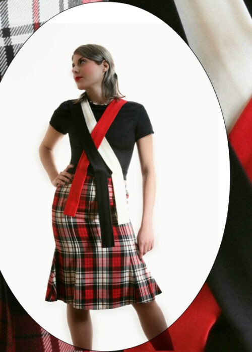 Duchelina's plaid dress 3a