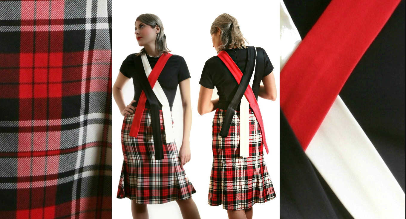 Duchelina's plaid dress 6b