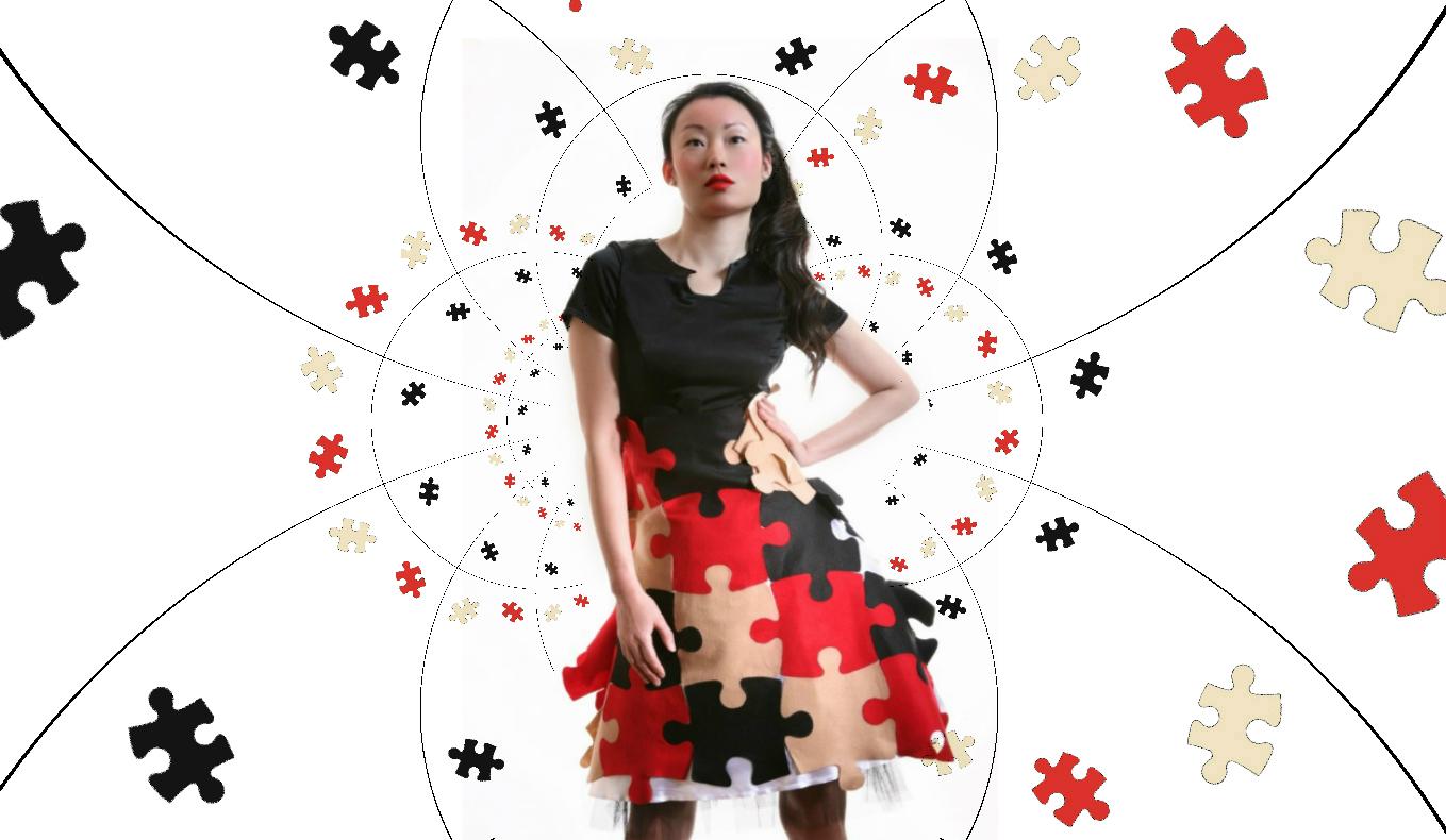 Puzzle dress 12