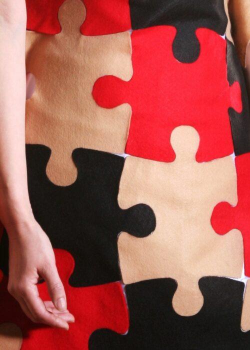Puzzle dress 14