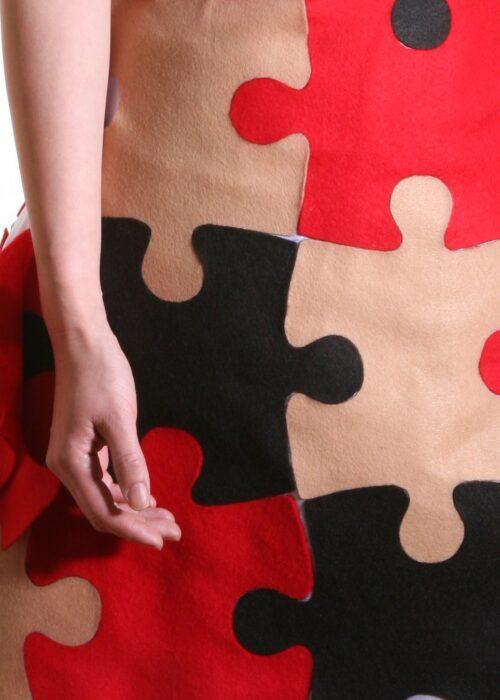 Puzzle dress 159a