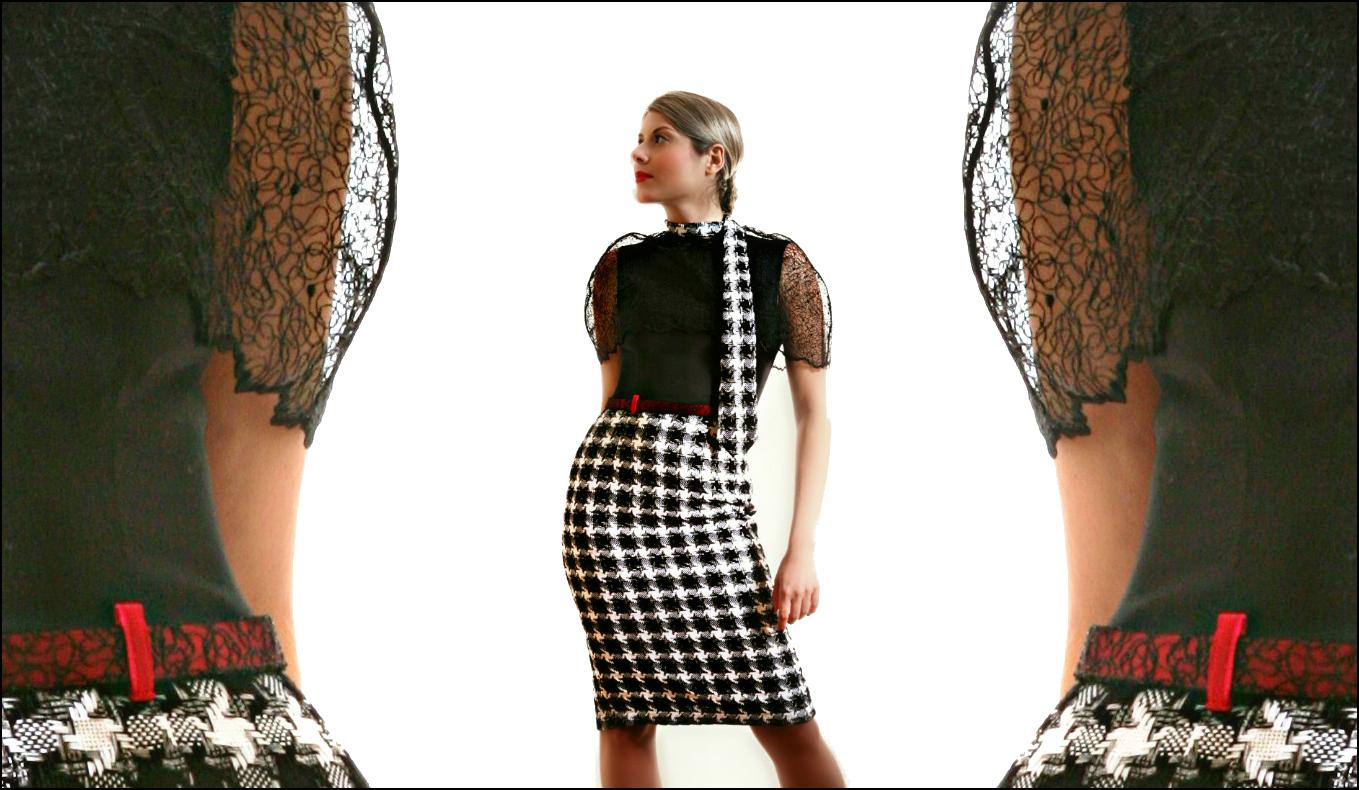 Tracery dress 1