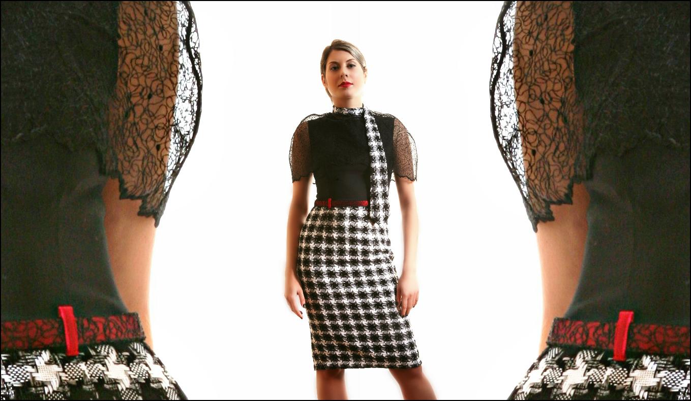 Tracery dress 2